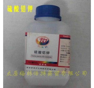 硫酸铝钾,分析纯500g,天力试剂